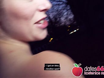 Outdoor fucking with Claudia Swea and Andy Star! Dates66.com