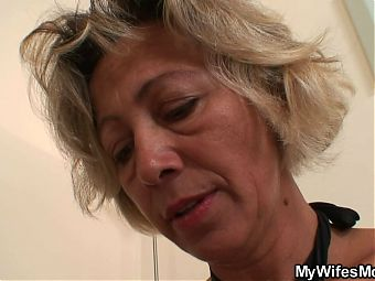 Girlfriends hot mom gets banged from behind