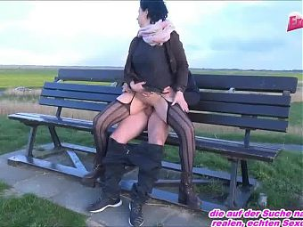 OLD GERMAN HOUSEWIFE FUCKET OUTDOOR FROM YOUNG BOY