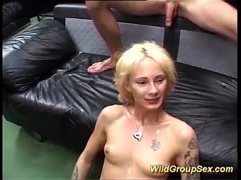 moms first real gangbang orgy